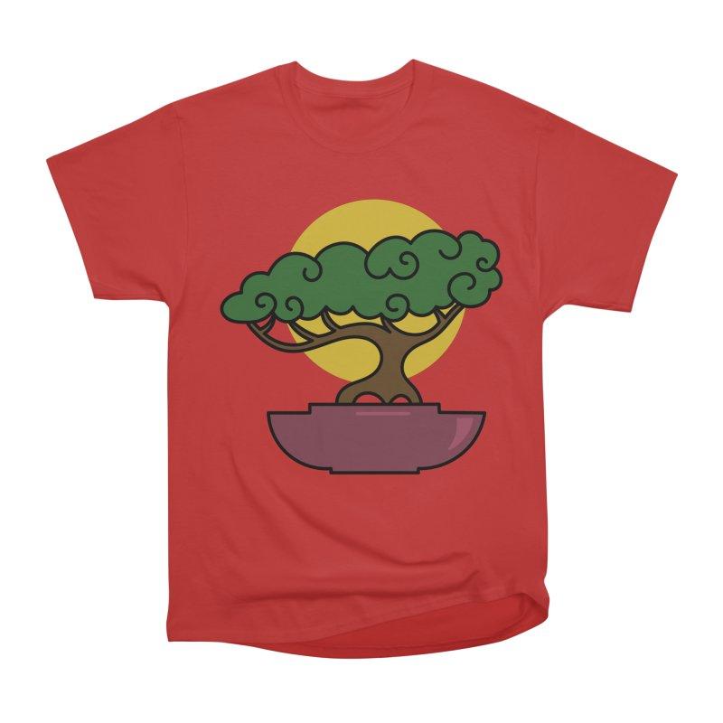 Bonsai Tree #2 Men's Heavyweight T-Shirt by LadyBaigStudio's Artist Shop