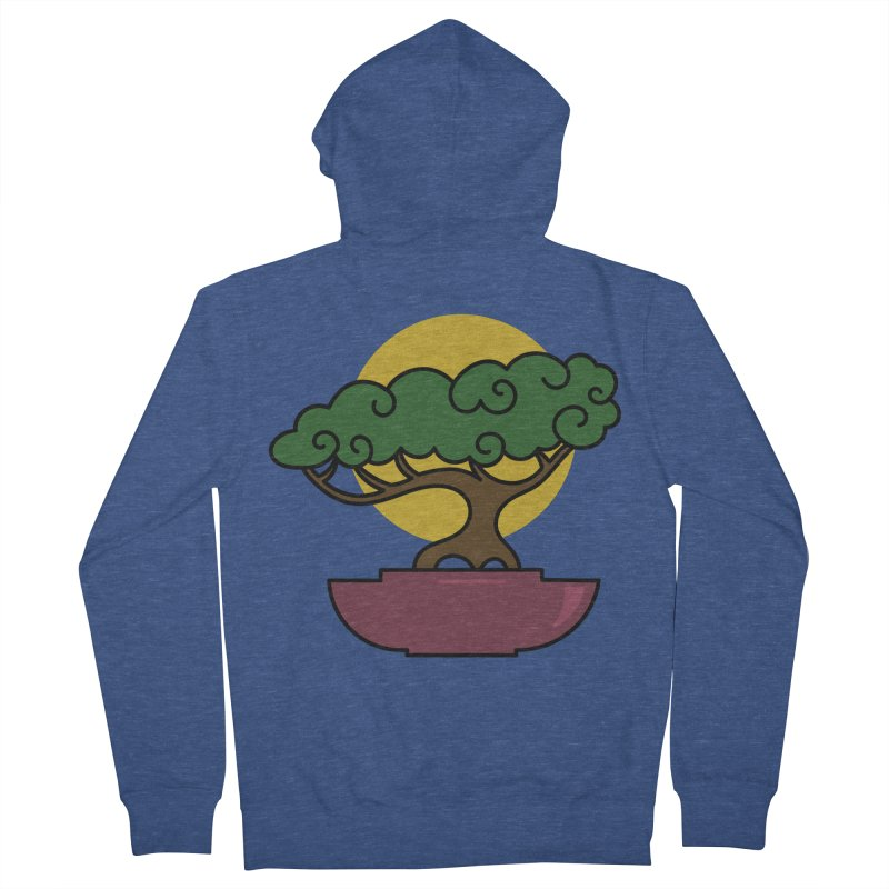Bonsai Tree #2 Men's French Terry Zip-Up Hoody by LadyBaigStudio's Artist Shop