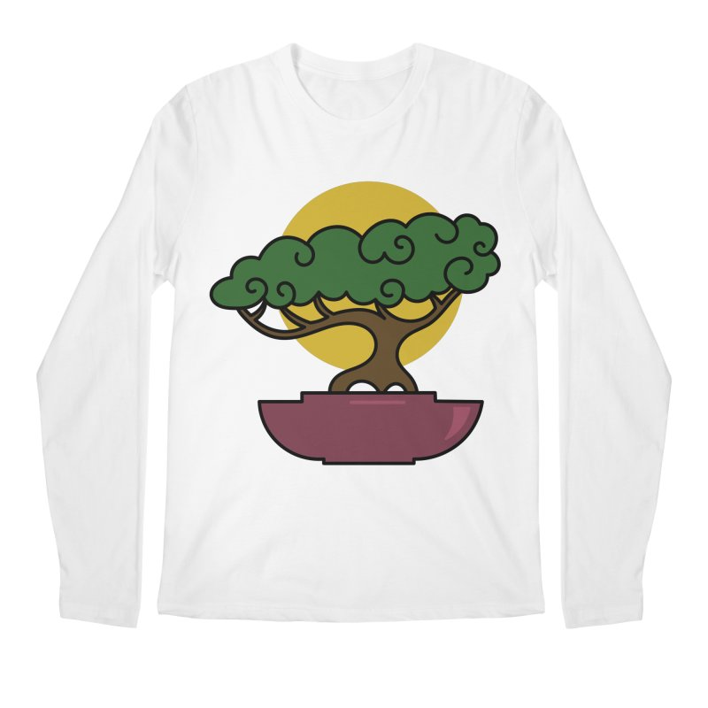Bonsai Tree #2 Men's Longsleeve T-Shirt by LadyBaigStudio's Artist Shop