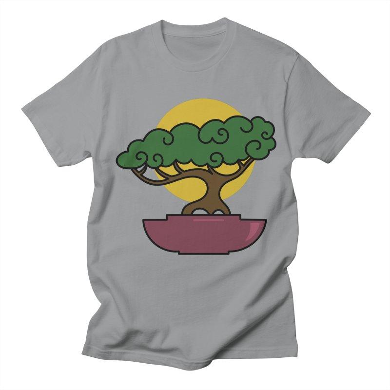 Bonsai Tree #2 Women's Regular Unisex T-Shirt by LadyBaigStudio's Artist Shop
