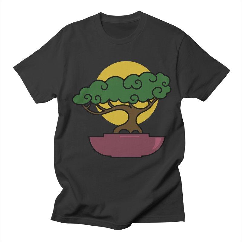 Bonsai Tree #2 Men's Regular T-Shirt by LadyBaigStudio's Artist Shop