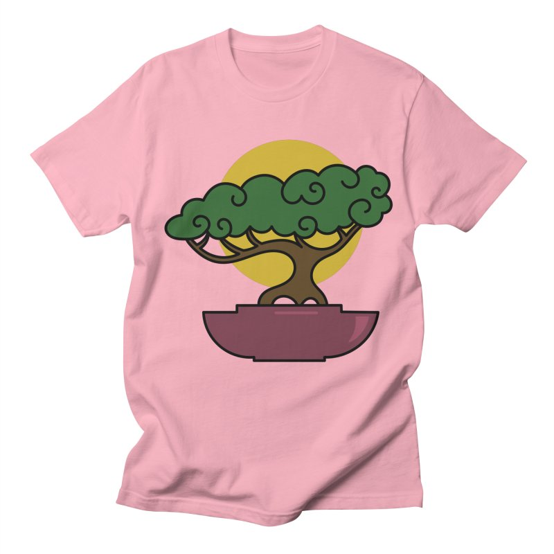 Bonsai Tree #2 Men's Regular T-Shirt by LadyBaigStudio's Artist Shop