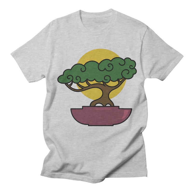 Bonsai Tree #2 Men's T-Shirt by LadyBaigStudio's Artist Shop