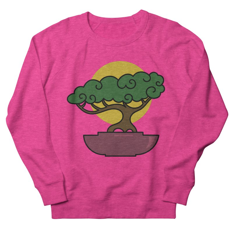 Bonsai Tree #2 Women's Sweatshirt by LadyBaigStudio's Artist Shop