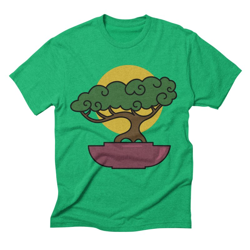 Bonsai Tree #2 Men's Triblend T-Shirt by LadyBaigStudio's Artist Shop