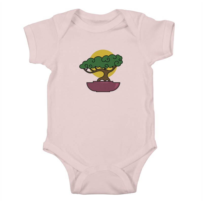 Bonsai Tree #2 Kids Baby Bodysuit by LadyBaigStudio's Artist Shop