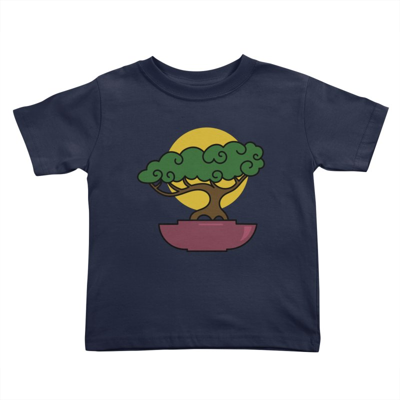 Bonsai Tree #2 Kids Toddler T-Shirt by LadyBaigStudio's Artist Shop