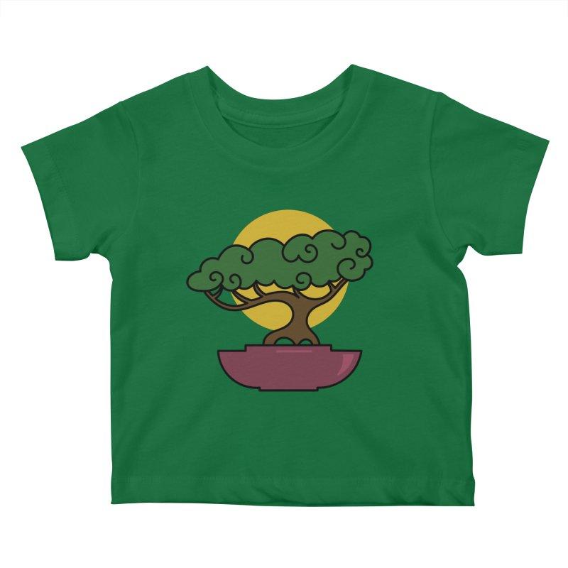 Bonsai Tree #2 Kids Baby T-Shirt by LadyBaigStudio's Artist Shop