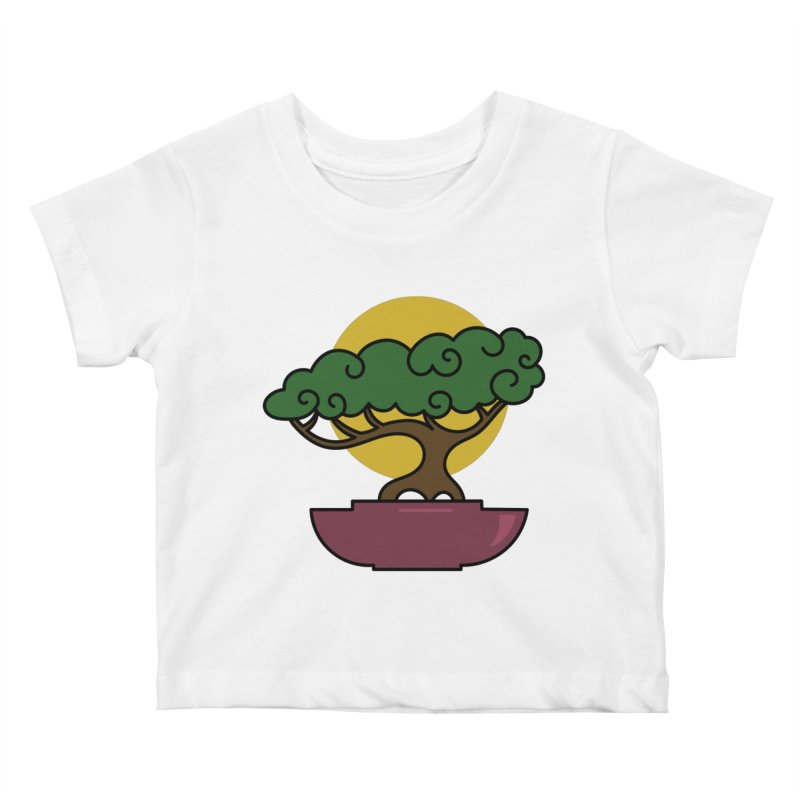 Bonsai Tree #2 Kids Baby T-Shirt by LadyBaigStudio's Artist Shop