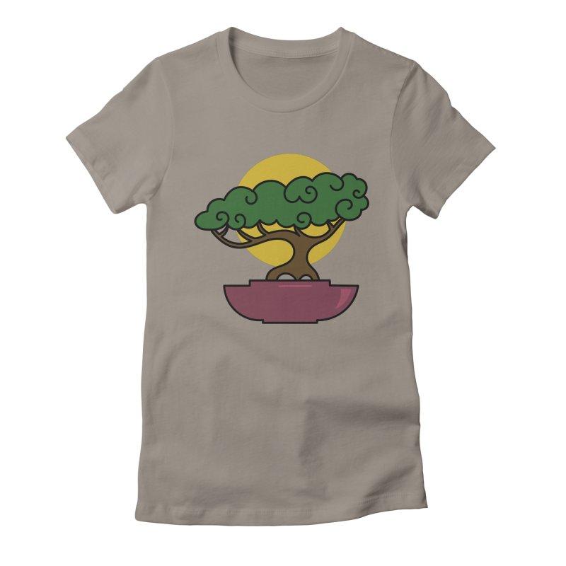 Bonsai Tree #2 Women's T-Shirt by LadyBaigStudio's Artist Shop