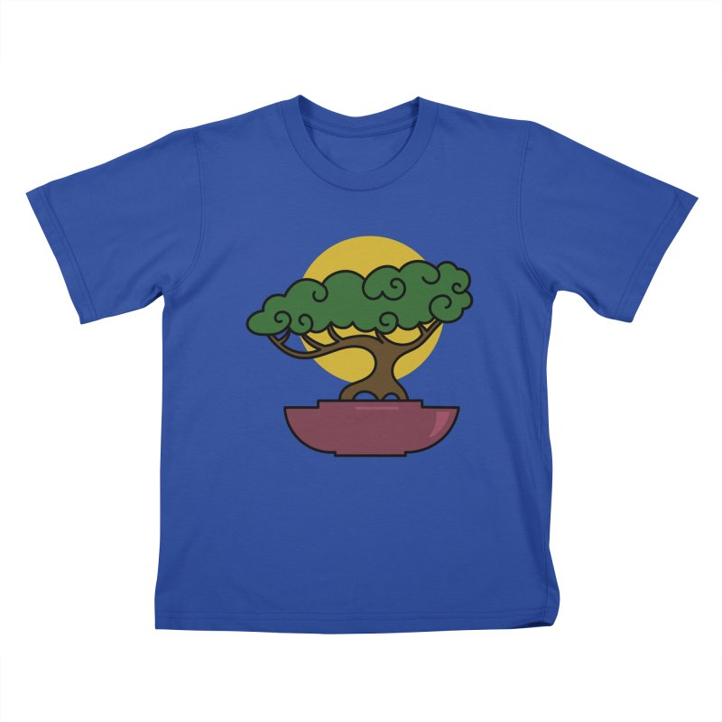 Bonsai Tree #2 Kids T-Shirt by LadyBaigStudio's Artist Shop