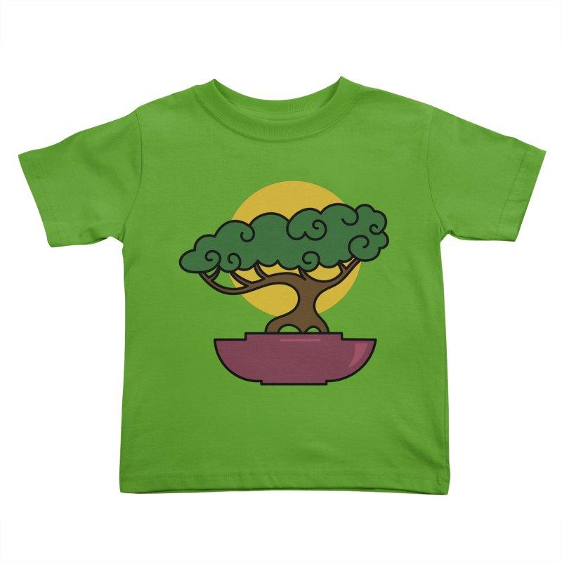 Bonsai Tree #2 Kids Toddler T-Shirt by LadyBaigStudio's Artist Shop