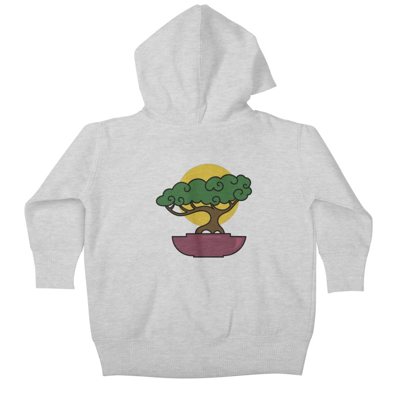 Bonsai Tree #2 Kids Baby Zip-Up Hoody by LadyBaigStudio's Artist Shop