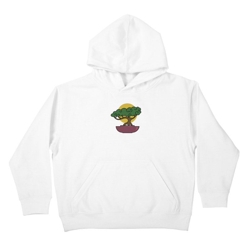 Bonsai Tree #2 Kids Pullover Hoody by LadyBaigStudio's Artist Shop