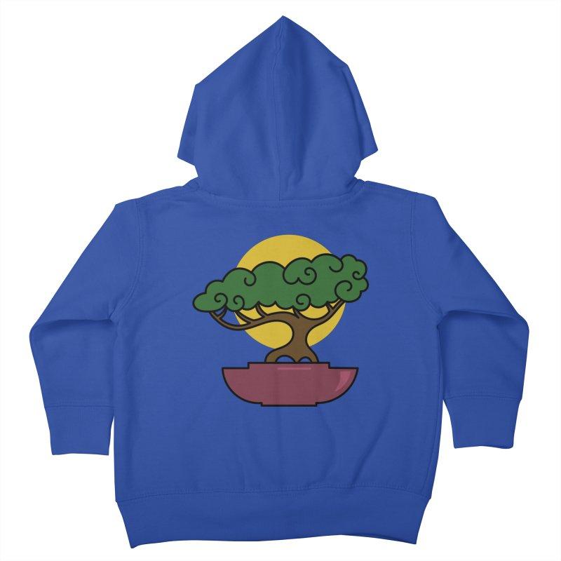 Bonsai Tree #2 Kids Toddler Zip-Up Hoody by LadyBaigStudio's Artist Shop