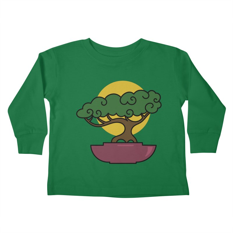 Bonsai Tree #2 Kids Toddler Longsleeve T-Shirt by LadyBaigStudio's Artist Shop