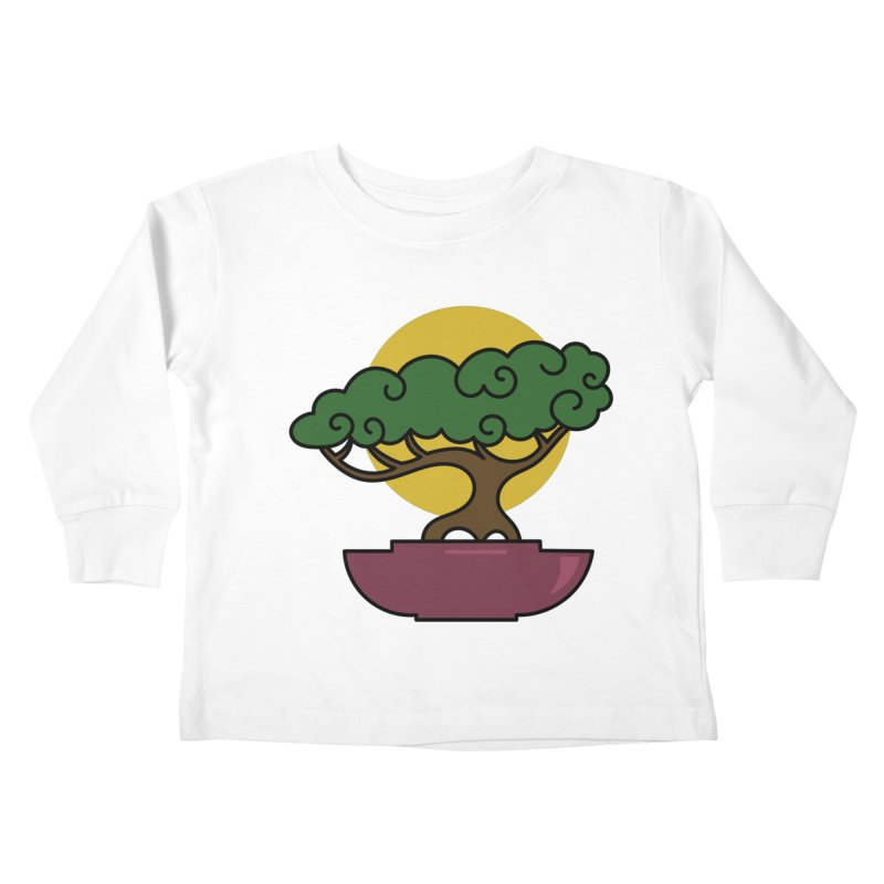 Bonsai Tree #2 Kids Toddler Longsleeve T-Shirt by LadyBaigStudio's Artist Shop