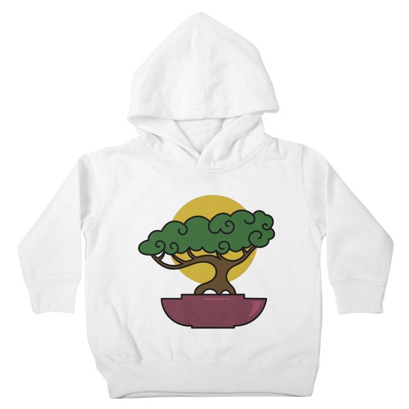 Bonsai Tree #2 Kids Toddler Pullover Hoody by LadyBaigStudio's Artist Shop