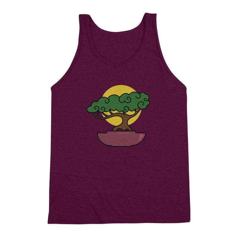 Bonsai Tree #2 Men's Triblend Tank by LadyBaigStudio's Artist Shop