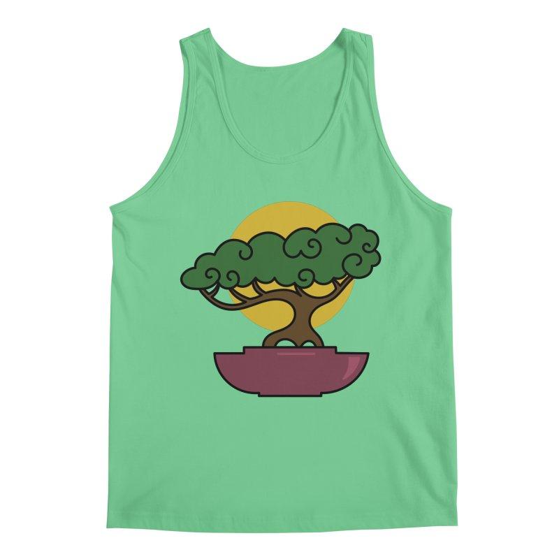 Bonsai Tree #2 Men's Regular Tank by LadyBaigStudio's Artist Shop
