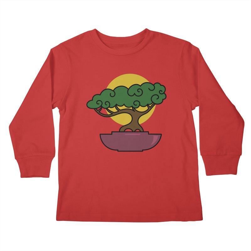 Bonsai Tree #2 Kids Longsleeve T-Shirt by LadyBaigStudio's Artist Shop