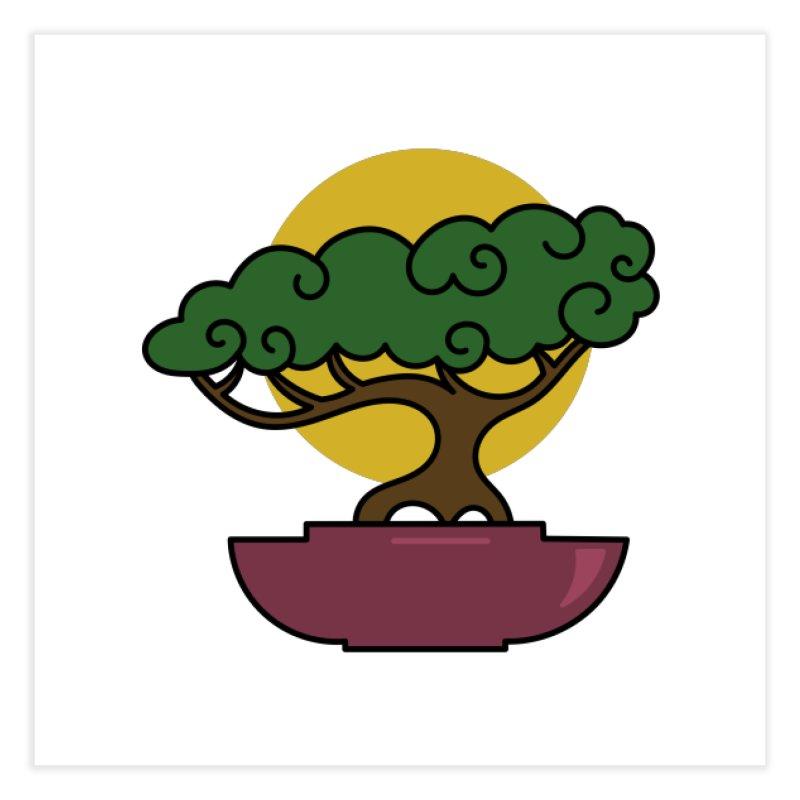 Bonsai Tree #2 Home Fine Art Print by LadyBaigStudio's Artist Shop
