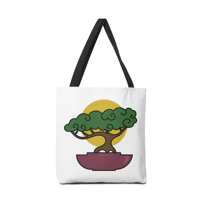 Bonsai Tree #2 Accessories Tote Bag Bag by LadyBaigStudio's Artist Shop