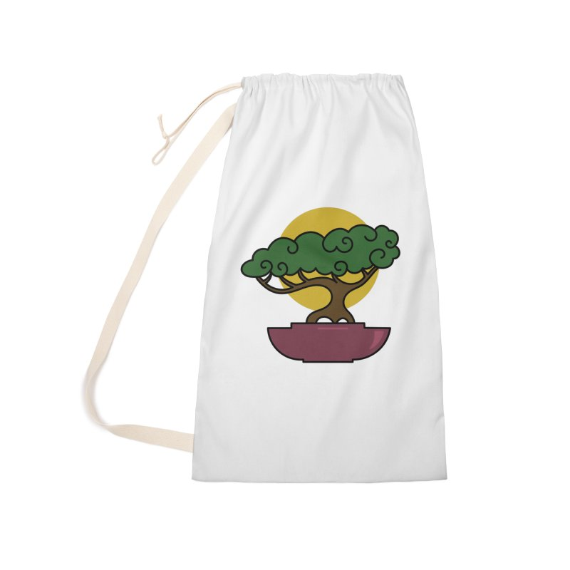 Bonsai Tree #2 Accessories Laundry Bag Bag by LadyBaigStudio's Artist Shop