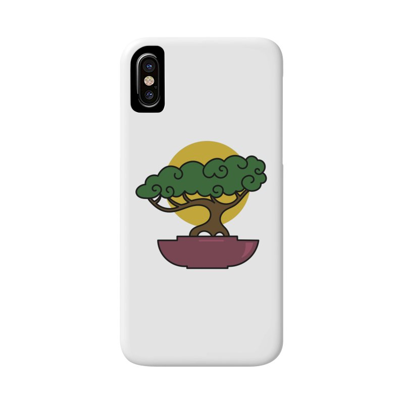 Bonsai Tree #2 Accessories Phone Case by LadyBaigStudio's Artist Shop