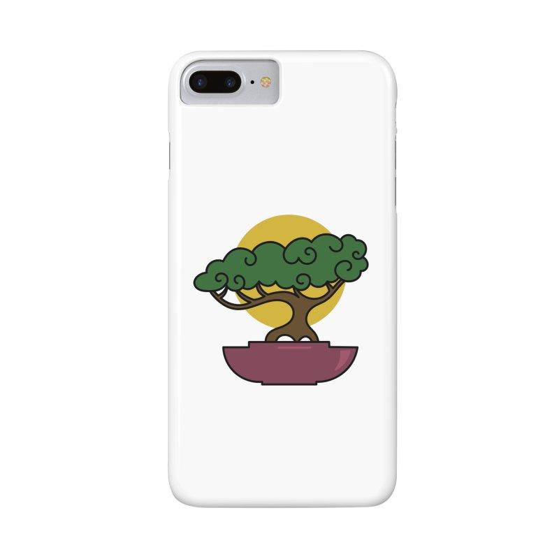 Bonsai Tree #2 Accessories Phone Case by LadyBaigStudio's Artist Shop