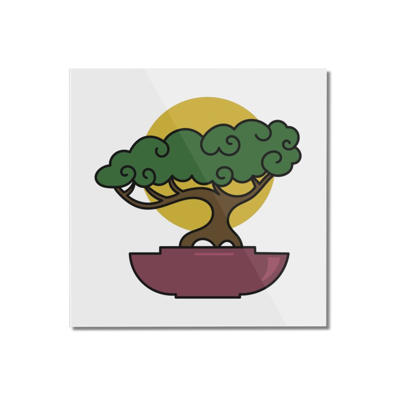 Bonsai Tree #2 Home Mounted Acrylic Print by LadyBaigStudio's Artist Shop