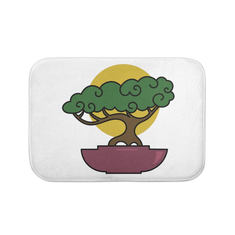 Bonsai Tree #2 Home Bath Mat by LadyBaigStudio's Artist Shop