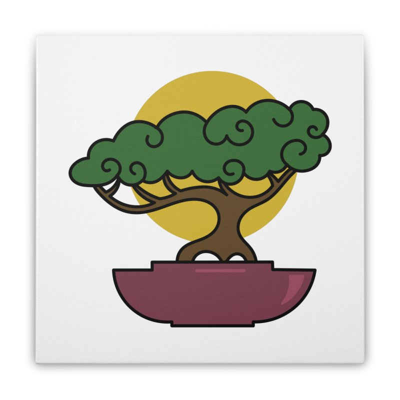 Bonsai Tree #2 Home Stretched Canvas by LadyBaigStudio's Artist Shop