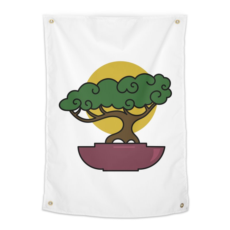 Bonsai Tree #2 Home Tapestry by LadyBaigStudio's Artist Shop