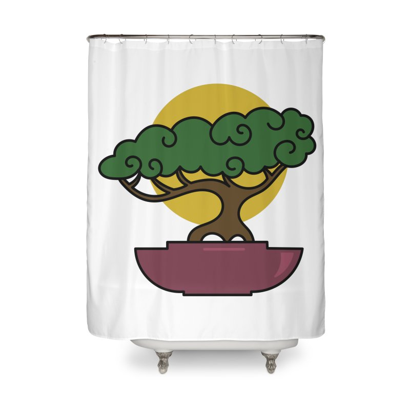Bonsai Tree #2 Home Shower Curtain by LadyBaigStudio's Artist Shop