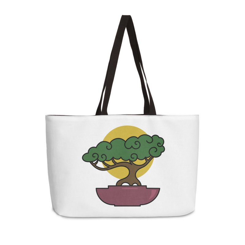Bonsai Tree #2 Accessories Bag by LadyBaigStudio's Artist Shop