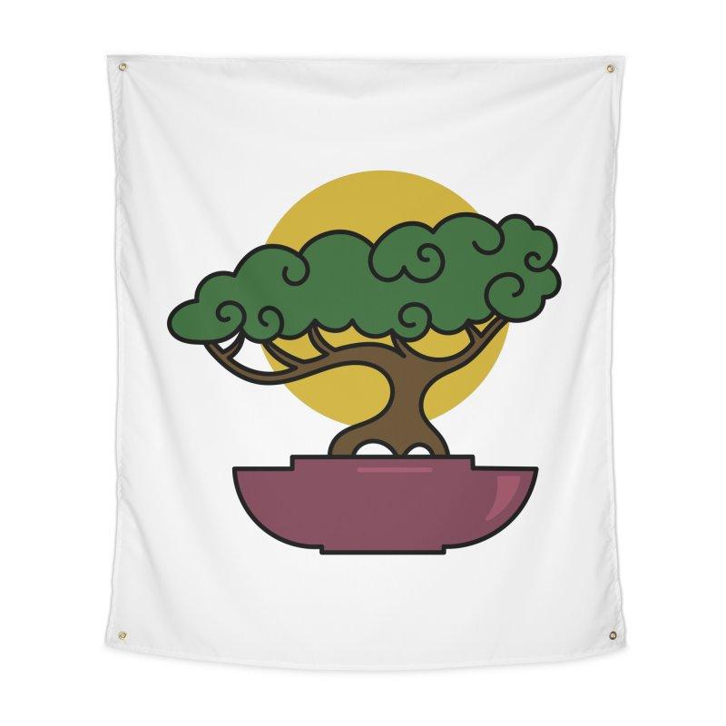 Bonsai Tree #2 Home Tapestry by LadyBaigStudio's Artist Shop