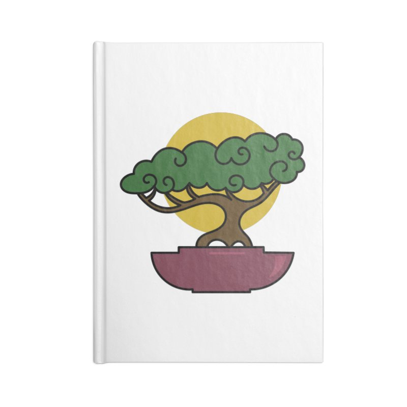 Bonsai Tree #2 Accessories Lined Journal Notebook by LadyBaigStudio's Artist Shop
