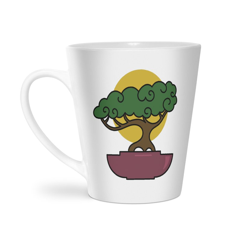 Bonsai Tree #2 Accessories Latte Mug by LadyBaigStudio's Artist Shop