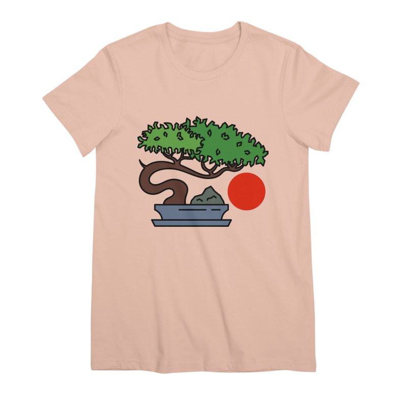 Bonsai Tree - #3 Women's Premium T-Shirt by LadyBaigStudio's Artist Shop