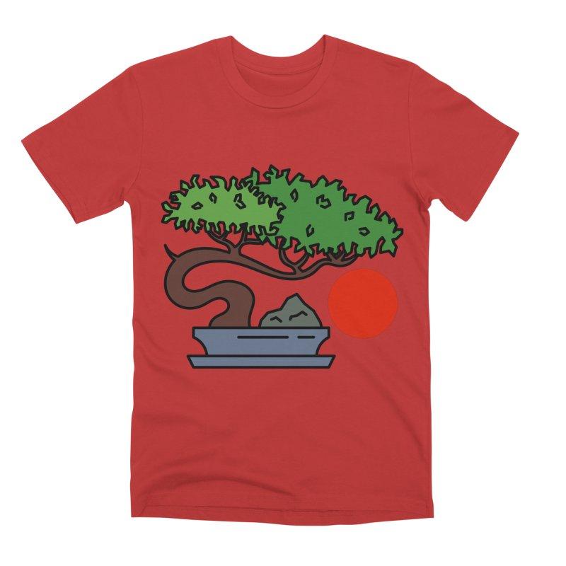 Bonsai Tree - #3 Men's Premium T-Shirt by LadyBaigStudio's Artist Shop