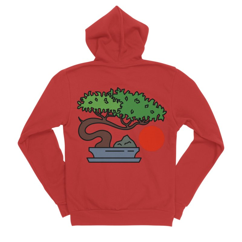 Bonsai Tree - #3 Women's Zip-Up Hoody by LadyBaigStudio's Artist Shop