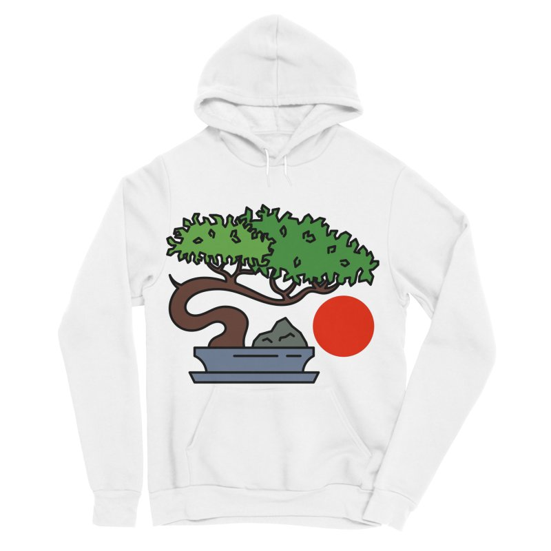 Bonsai Tree - #3 Women's Sponge Fleece Pullover Hoody by LadyBaigStudio's Artist Shop