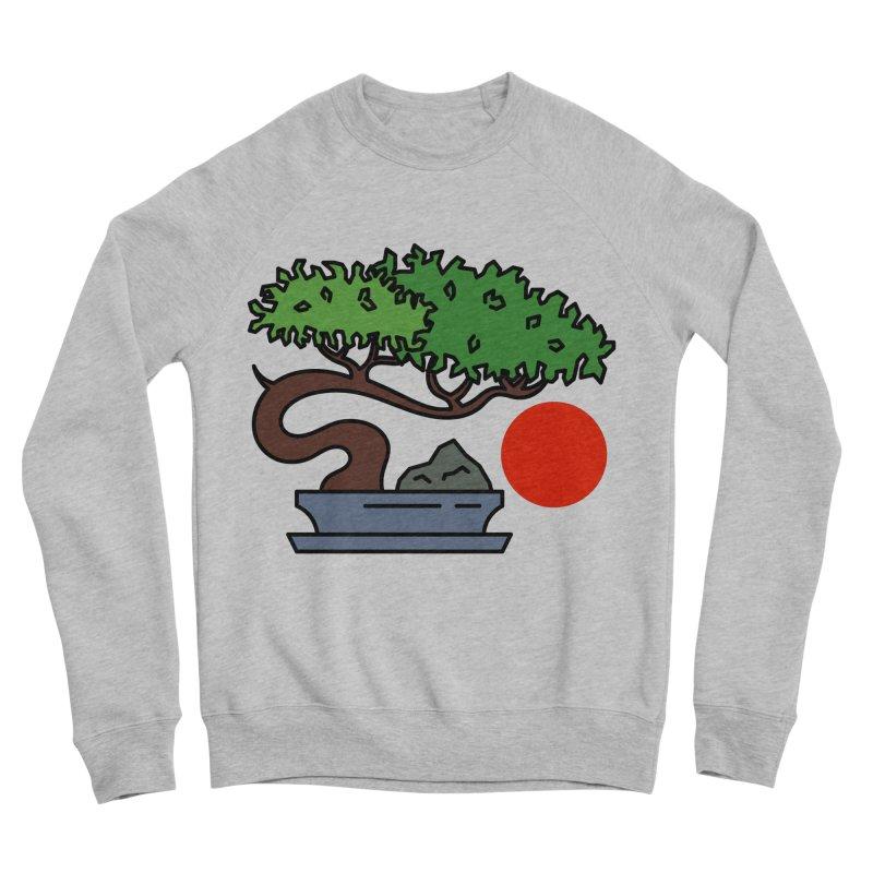 Bonsai Tree - #3 Women's Sponge Fleece Sweatshirt by LadyBaigStudio's Artist Shop
