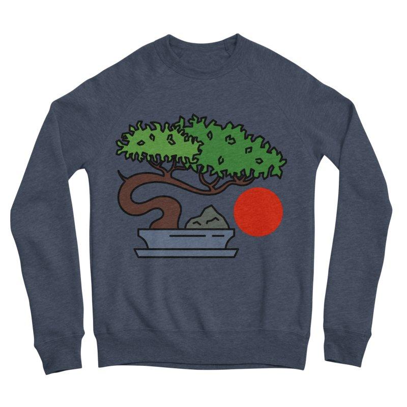 Bonsai Tree - #3 Men's Sponge Fleece Sweatshirt by LadyBaigStudio's Artist Shop