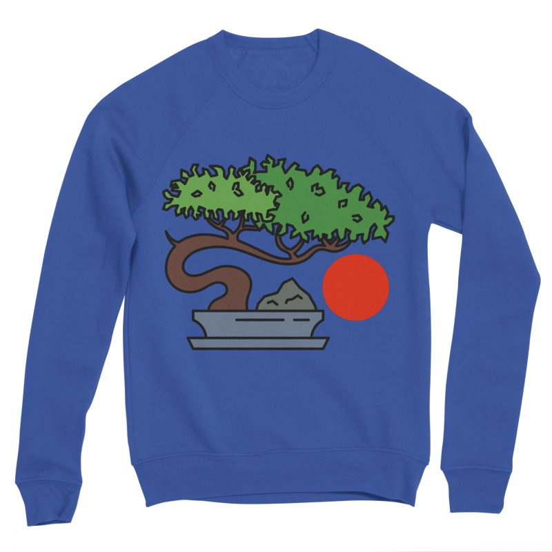 Bonsai Tree - #3 Men's Sweatshirt by LadyBaigStudio's Artist Shop