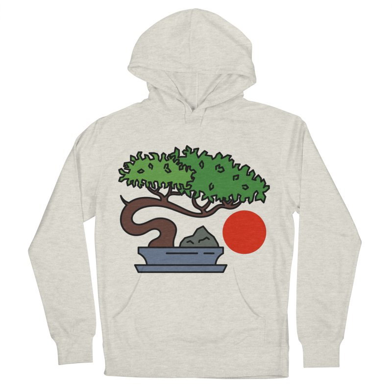 Bonsai Tree - #3 Women's French Terry Pullover Hoody by LadyBaigStudio's Artist Shop