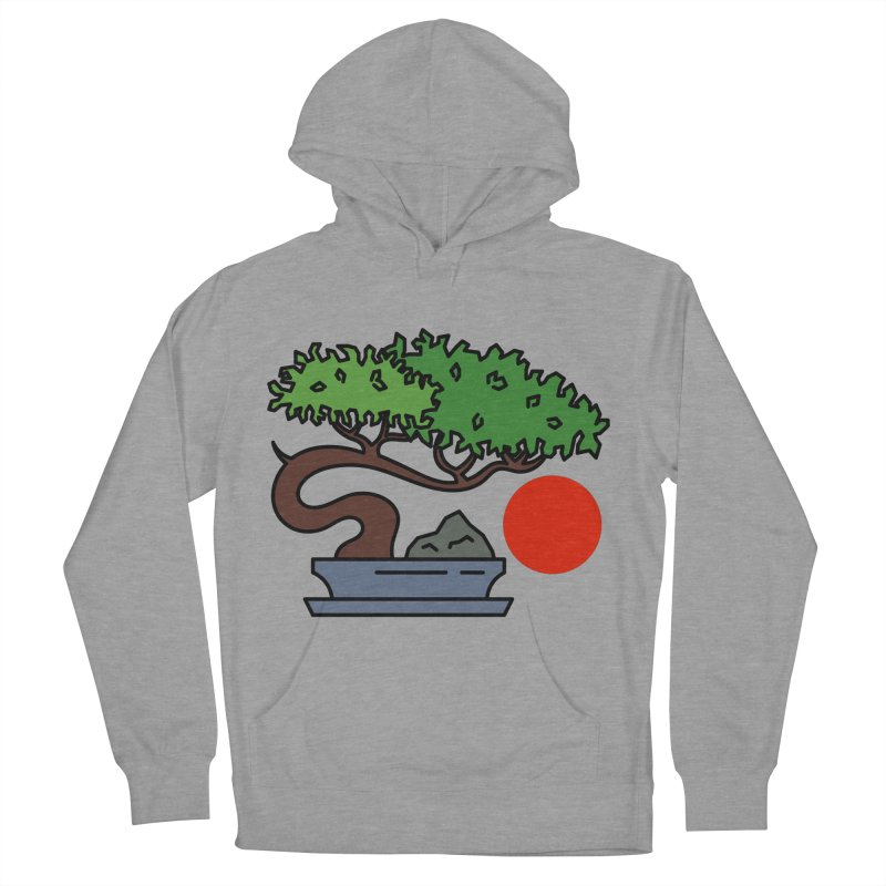 Bonsai Tree - #3 Men's French Terry Pullover Hoody by LadyBaigStudio's Artist Shop