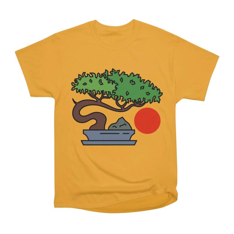 Bonsai Tree - #3 Men's Heavyweight T-Shirt by LadyBaigStudio's Artist Shop