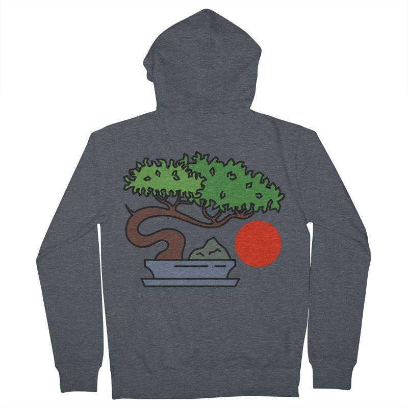 Bonsai Tree - #3 Women's French Terry Zip-Up Hoody by LadyBaigStudio's Artist Shop
